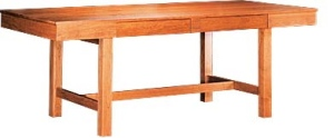 The Lloyd Desk, designed by Joe Ruggiero for Gat Creek.
