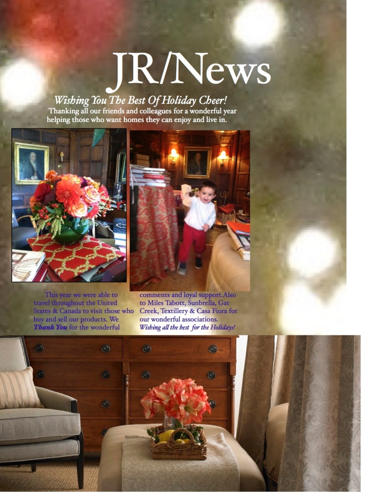 Our December Newsletter.