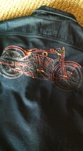 Think the details on this embroidery are classic.