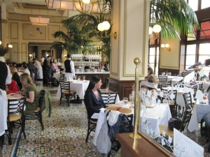 The best Bistro in LA this is a treat from famed chef, Thomas Keller.