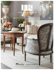 "Featuring our fabric ""Rosie"" This room is inspired by Joe's many travels through France."