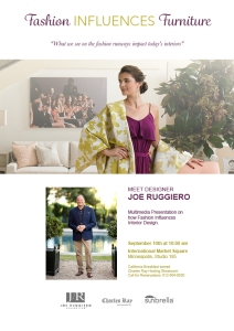 Joe Ruggiero will take his presentation to International Market Square on Sept 10th 2015