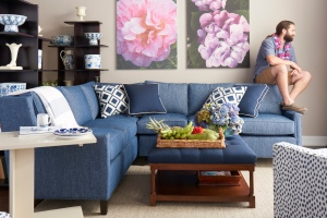 Blue & White for a fresh look at Islands decor.
