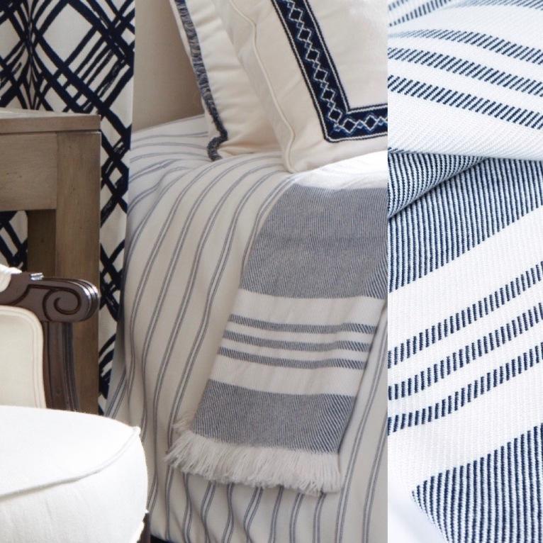 Blue & White Textillery